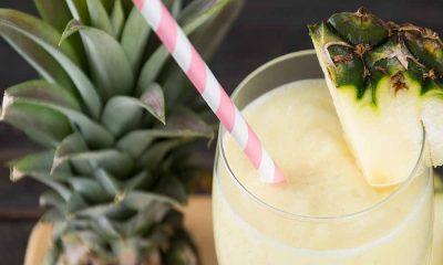 Ananas ve Hindistancevizli Smoothie