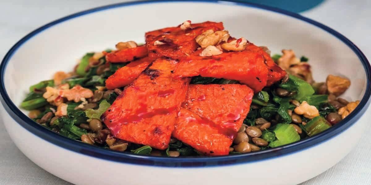 Pazılı Bal Kabağı Salatası