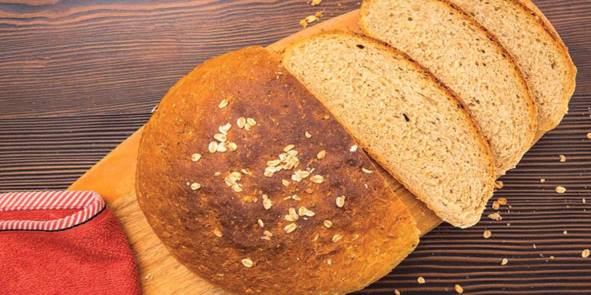 Yulaflı Tam Buğday Ekmeği