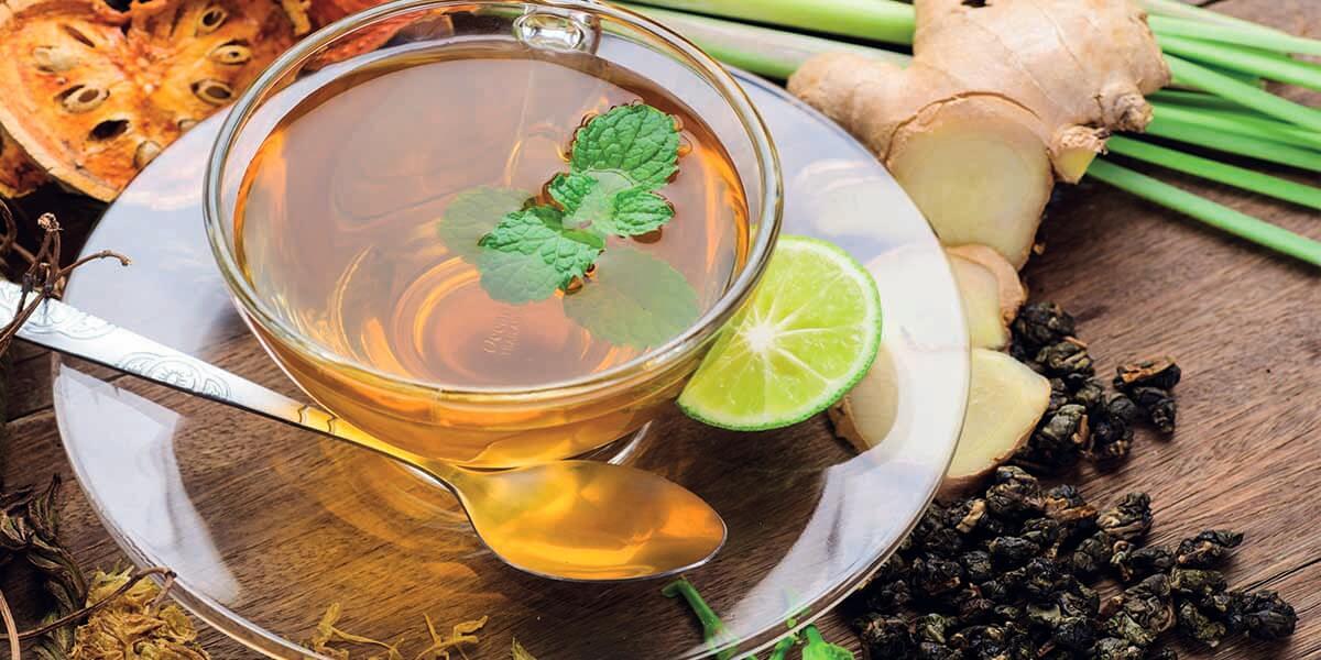Virüssavar Zencefil Çayı
