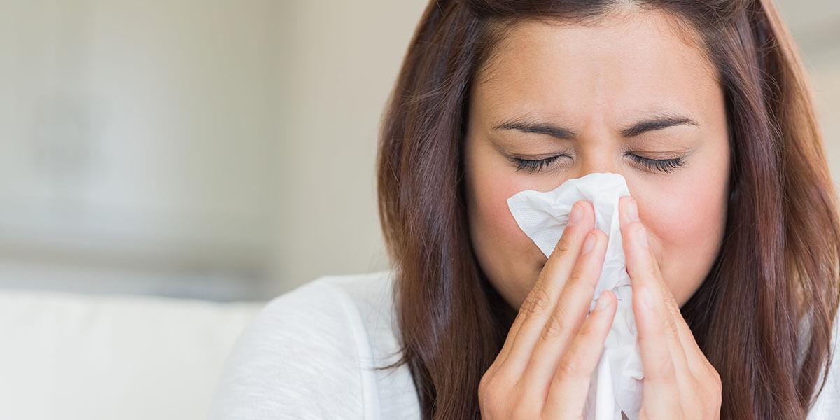 catching a flu