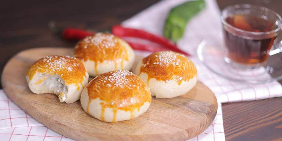 Otlu Peynirli Poğaça