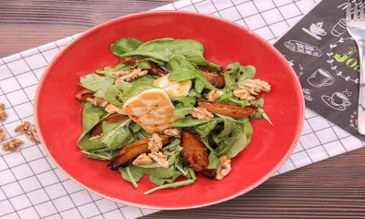 Fırınlanmış Armut Salatası